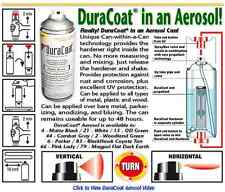 DuraCoat UV Firearm Finish - Aerosol Can Only - ANY STANDARD COLOR