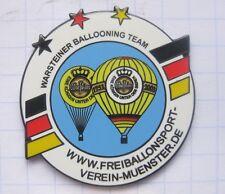 VEREIN MÜNSTER / WARSTEINER BALLOONING TEAM  ... Bier-Ballon-Pin (126h)