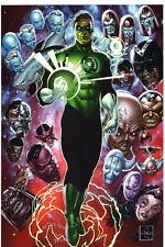 SIGNED Ethan Van Sciver DC JLA Comic Art Print ~ Green Lantern Sinestro Guardian
