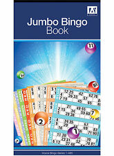 "Anker International Stationary ""1-480"" Bingo Ticket Book - 6 to View Bingo Pad"