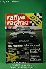 Rallye Racing 3/78 AMG Mercedes Fiat 128 Abarth Manta + Poster