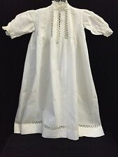 Antique Handmade Baby Christening Gown - Lovely! (RF310)