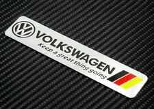 "Oz Stock- Volkswagen VW ""Keep A Great thing going"" Badge Emblem Logo Decal Golf"