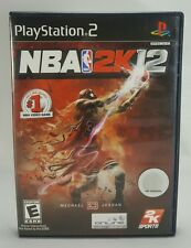 NBA 2K12 (Sony PlayStation 2, 2011) Complete
