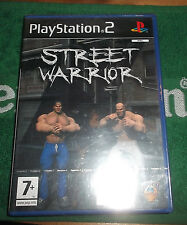 PLAYSTATION 2 STREET WARRIOR SIGILLATO NUOVO RETROGAME VIDEOGAME