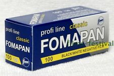3 x FOMAPAN 100 B&W Film 120 Black and White FREE SHIP