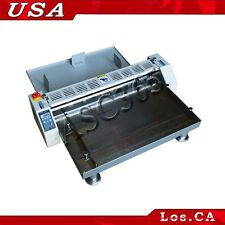 110V Electric Creaser Scorer Perforator Paper Creasing Machine 26inch 660mm