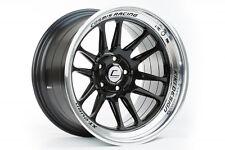 Cosmis Racing XT-206R 18x11 +8mm 5x114.3  Black w/ Machined Lip| 2 Wheels