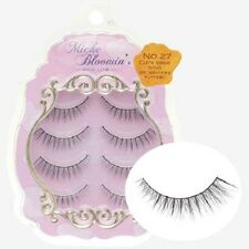 From JAPAN Miche Bloomin False eyelash 4pairs Regular line Cute wink wing