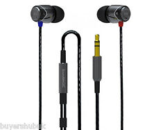 SoundMAGIC E10 Award Winning In-Ear Earphones - Black & Silver Noise Isolating