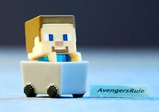 Minecraft Collectible Mini Figures Mattel Dig In! Series 3 Steve? With Minecart