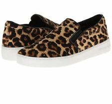 Michael Kors Keaton Women's Cheetah Slip On Sneakers Shoes Size 11M (MSRP $135)