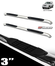 "FOR 2008-2012 JEEP LIBERTY KK 3"" CHROME SIDE STEP NERF BARS RAIL RUNNING BOARDS"
