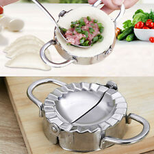 Dough Press Dumpling Pie Mould Maker Cooking Pastry Kitchen Tool Stainless Steel