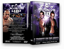 """Official Evolve Wrestling - Volume 10 """"A Tribute To The Arena"""" Event  DVD"""