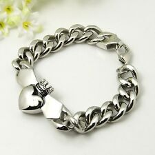 Buffy bracelet gourmette symbole claddagh Angel men's claddagh bracelet
