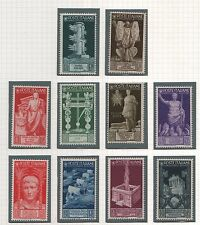 1937 Augusto p.o. serie cpl MNH +++