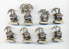CITADEL WARHAMMER OOP DWARF MINERS VERY WELL PAINTED A