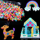 HOAU Hot Fun 1000pcs HAMA/PERLER BEADS for GREAT Kids Great Fun Multi colors
