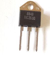 1 st. tic 263d triac 25a - 400v l'original texas instruments