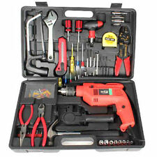 Tool Kit Drill 13mm machine with 132 Pcs of Accessories