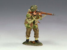 King and (&) Country MG025 - Polish Para Sniper - Retired