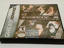 WWF Survivor Series High Quality Custom Collector Gameboy Advance GBA Case