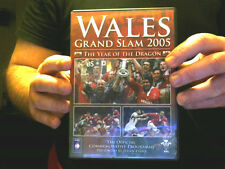 WALES GRAND SLAM 2005 DVD YEAR OF THE DRAGON 6 NATIONS RUGBY FREE UK XMAS POST