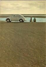 Volkswagen Beetle 1966-67 Dutch Market Brochure 1300 1500 Saloon Convertible