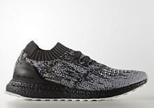Nuevas zapatillas ADIDAS ORIGINALS UK8 ULTRA BOOST Uncaged Negro Gris PRIMEKNIT Ltd