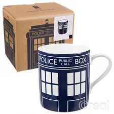 NUOVO Doctor Who Tardis pannello della porta in ceramica tazza caffè Homewares licenza ufficiale