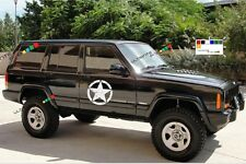 2 Decal sticker for Jeep kit Cherokee Army delta special Star Military kit force