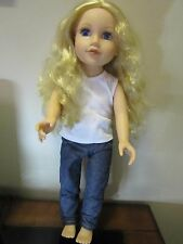 "Journey Girls Doll Blonde Hair Blue Eyes 18"" Outfit"