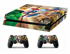 PS4 vinyl Skin Stickers lego super heroes style for Console & 2 controllers