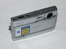 Sony Cyber-shot DSC-T9 6.0 MP Digital Camera - Silver