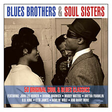 Blues Brothers & Soul Sisters 50 SONGS Best Essential Collection MUSIC New 2 CD