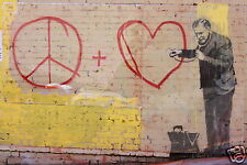 Australian Banksy Street Art A1 SIZE PRINT FOR YOUR FRAME