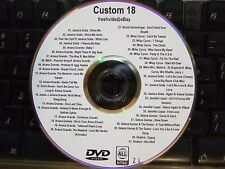 CUSTOM MIX VOL 18 MUSIC VIDEO DVD ARIANA GRANDE MILEY CIRUS JESSICA SUTTA