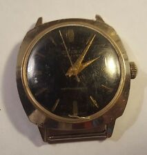 Vintage LUCERNE De Luxe Watch 3 Star Manual Wind WORKING No Band