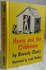 1962 HENRY AND THE CLUBHOUSE BY B.CLEARY W.MORROW N.YORK BE IN12