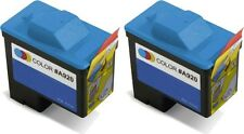 2 PACK For Dell Series 1 Color T0530 Ink Cartridges for 720 All-in-One Prin