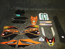 KTM SX65 2009-2012 N-STYLE Factory Team graphics + seat cover kit GR1045