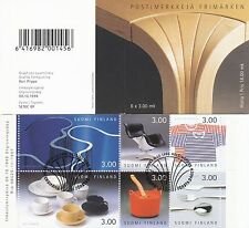 Finland 1998 Used Booklet - Finnish Design - Arabia Iittala Marimekko