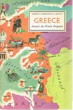 Greece - American Geographical Society Around The World Program - 1962