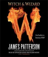 James Patterson WITCH & WIZARD Unabridged CD *NEW* FAST 1st Class Ship!