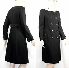 $2,995 Burberry Prorsum 4 6 38 Collarless Coat Trench Dress Women Lady GIFT NWT