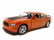 2006 DODGE CHARGER DAYTONA R/T COPPER 1/18 DIECAST MODEL CAR BY WELLY 18003