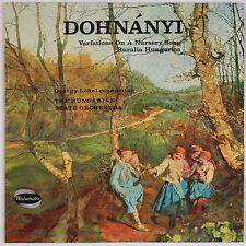 DOHNANYI: Variations Nursery LEHEL Hungarian State Orchestra WESTMINSTER LP