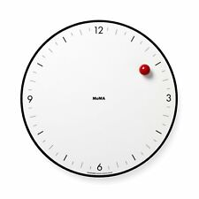 MoMA Timesphere Wall Clock Time Keeper Gravity Defying Minimalist Art Design
