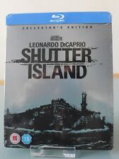 Blu ray steelbook Shutter Island U.K Play.com exclusive New&Sealed Neuf avec VF